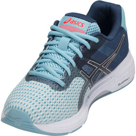 asics Gel-Phoenix 9 Shoes Women Porcelain Blue/Silver/Flash Coral